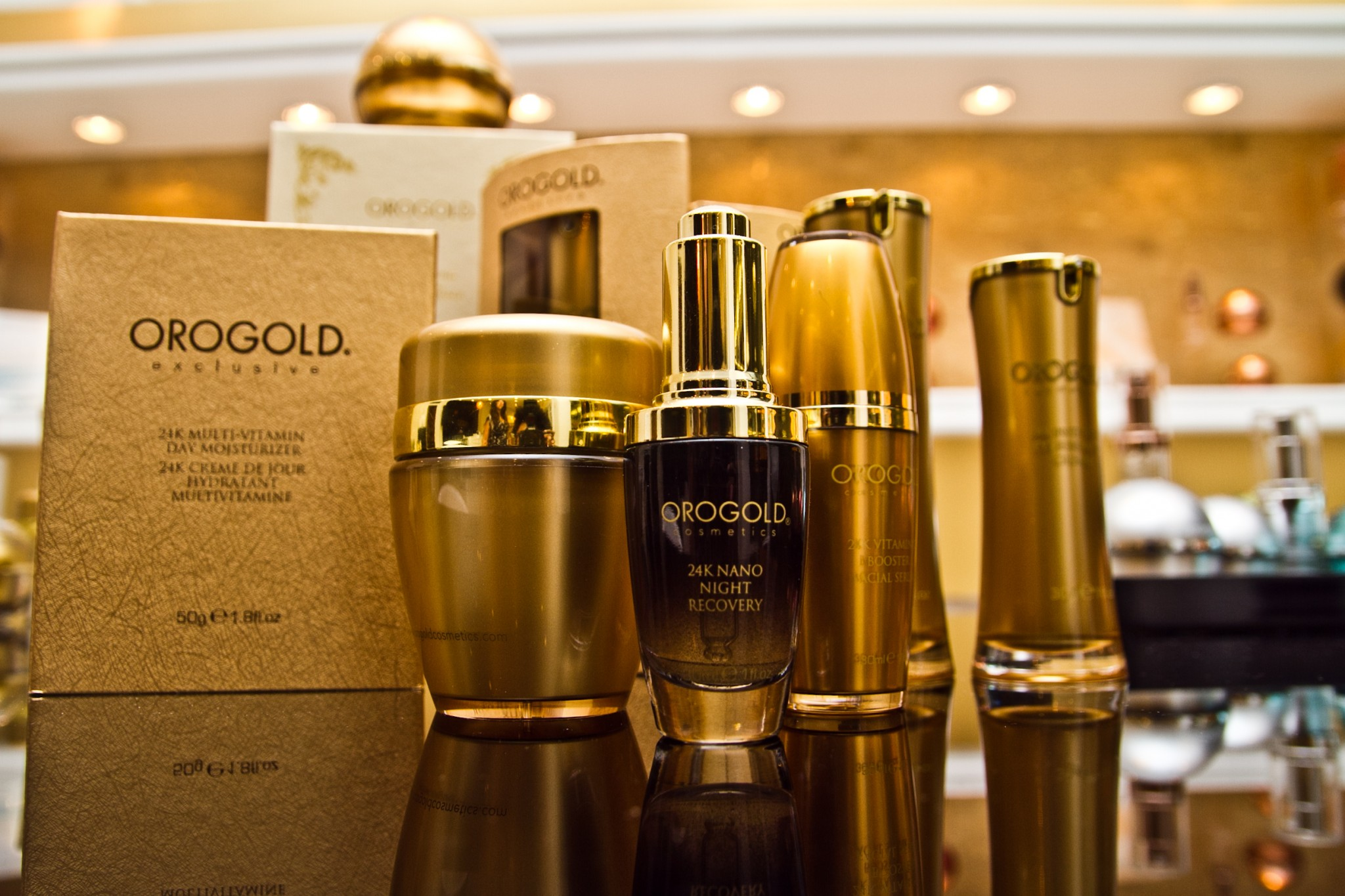 About OROGOLD Cosmetics