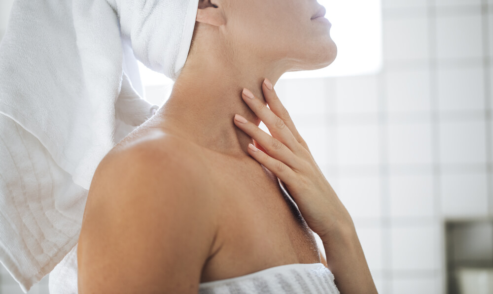 How to Properly Care for the Skin on Your Neck