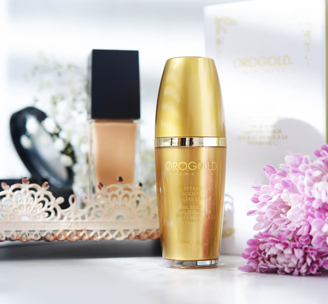 OROGOLD 24K Vitamin C Facial Booster Serum
