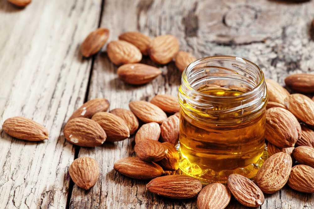 Almonds and sweet almond oil