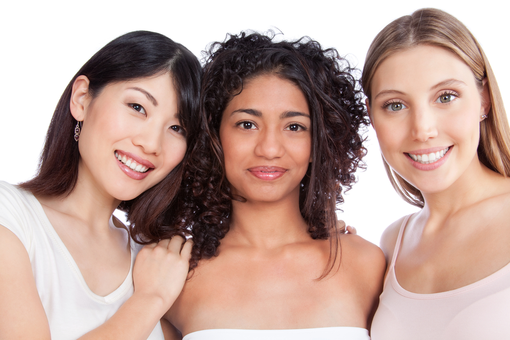 Women of various ethnic backgrounds