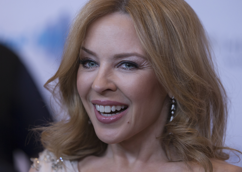 Kylie Minogue at a recent public event