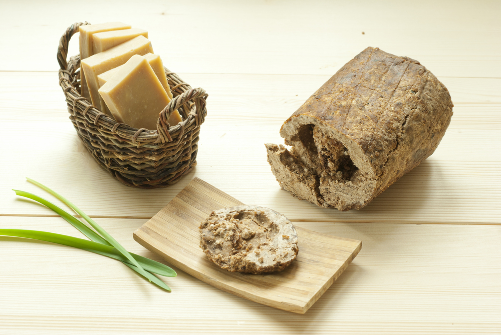 Ingredients for African Black Soap