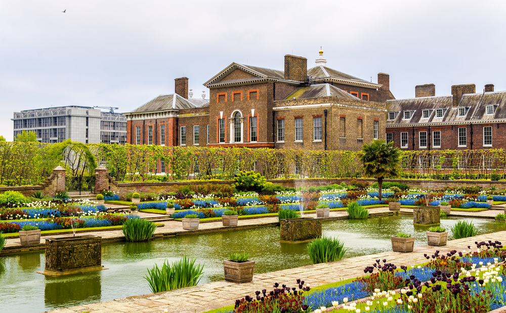 Kensington Palace, London.