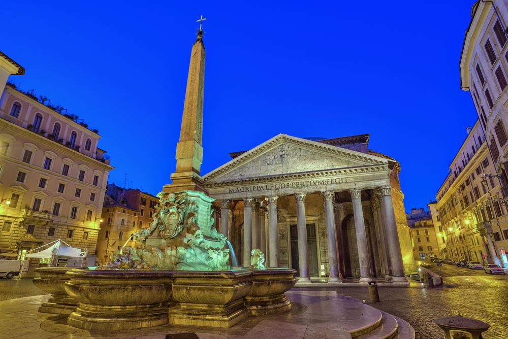 Parthenon, Rome.