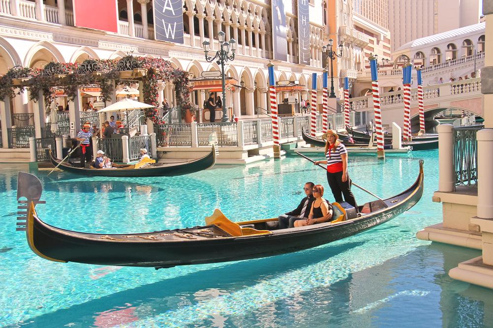 Gondola, Venetian, Las Vegas