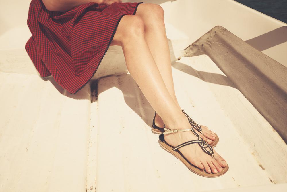Strappy summer sandals