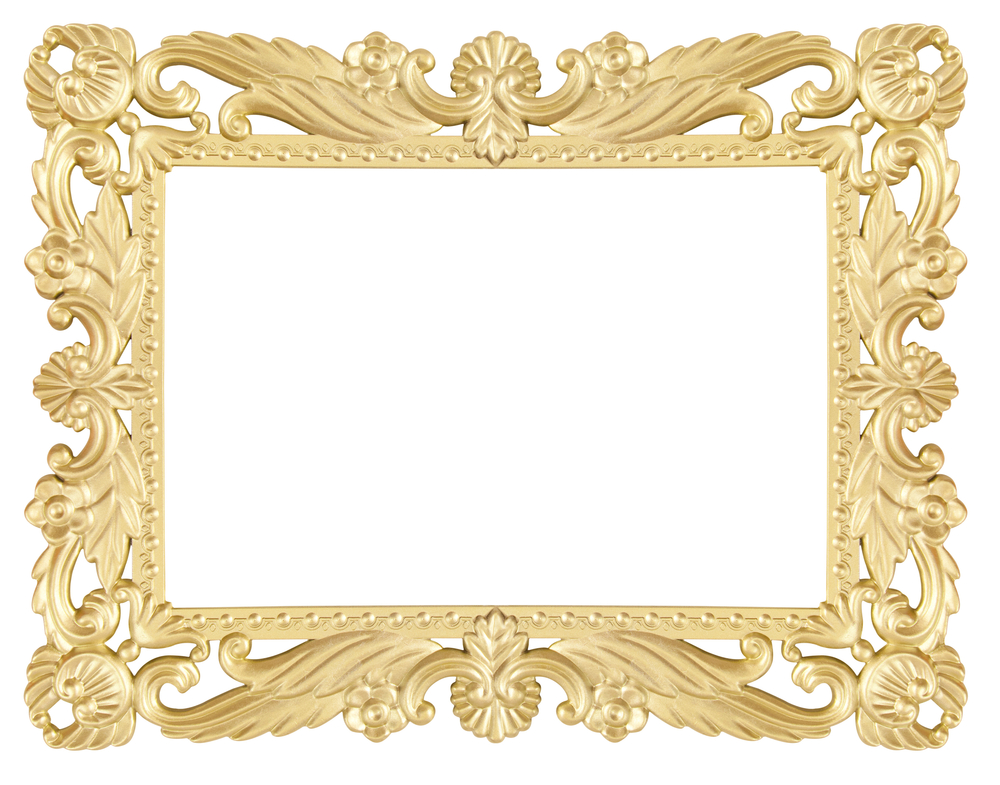 Gold leaf  mirror