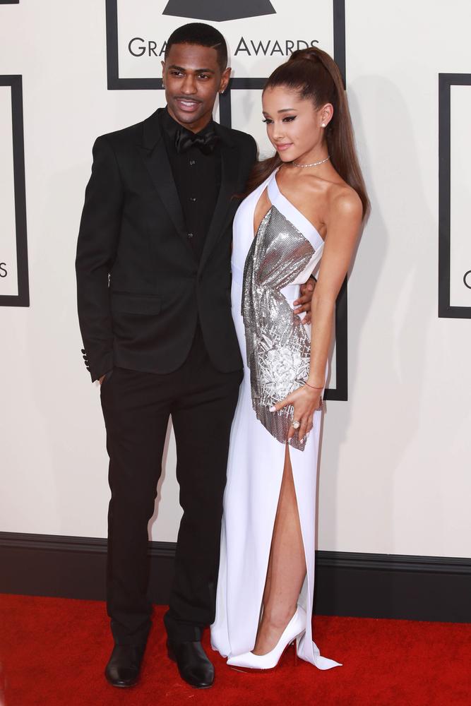Ariana Grande and Big Sean at Grammy's