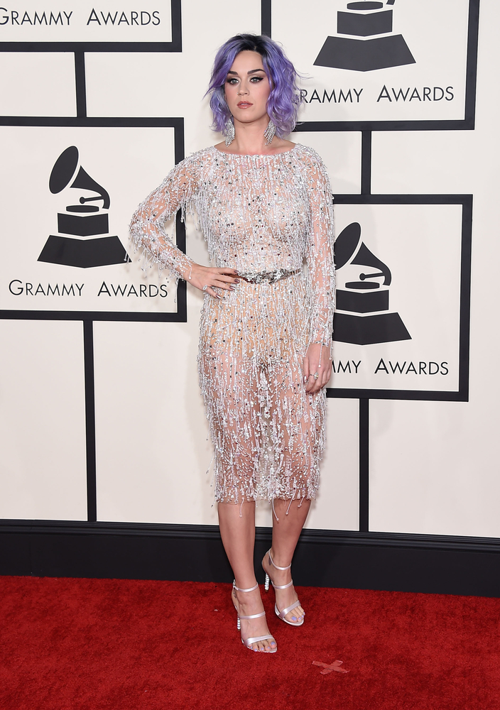 Katy Perry at Grammy's
