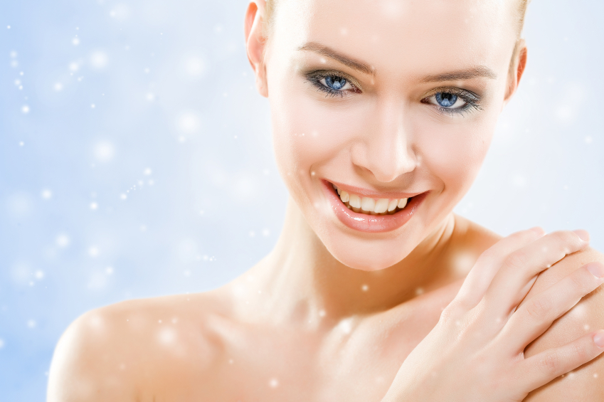 Healthy beautiful skin even during winter
