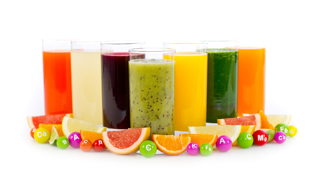 Image  showing the best smoothies for different vitamins.