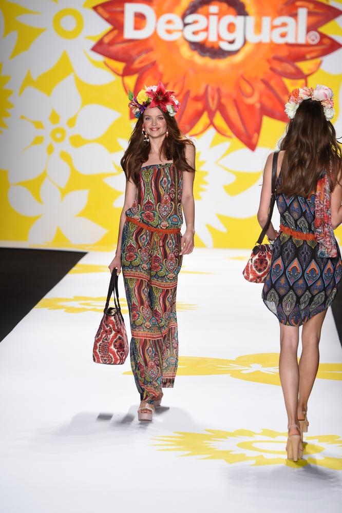 Desigual runway, Fashion Week 2014.
