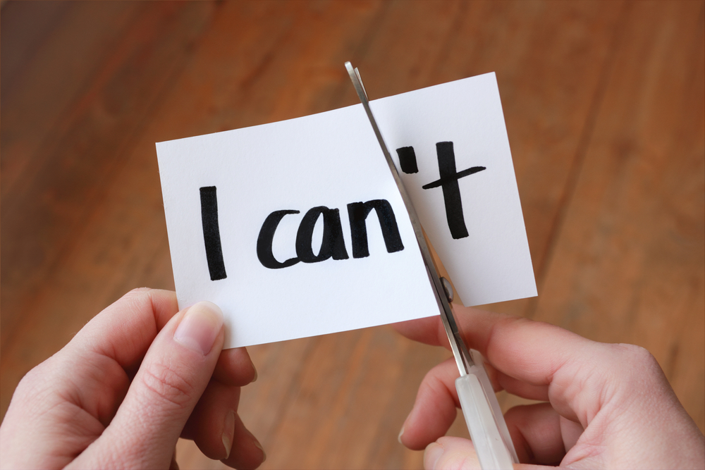 """Changing """"I Can't"""" to """"I Can"""""""