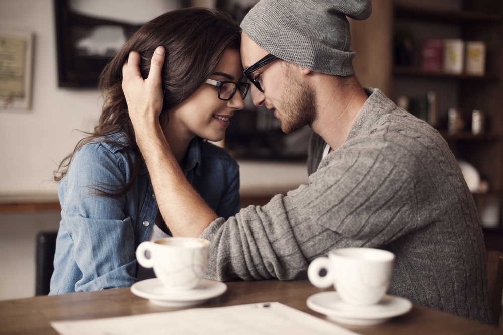 Romantic couple with glasses signifying the importance of proper eye care.