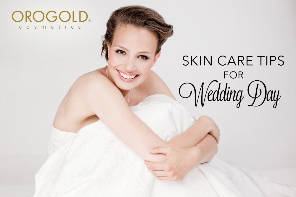 Skin Care Tips For Your Wedding Day Bride And Groom Edition